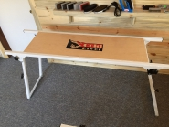 Cold River Wax-Tuning bench