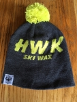 HWK beanie Grey/Yellow